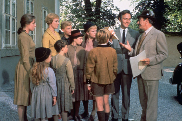 "Scene in ""The Sound of Music"" film"