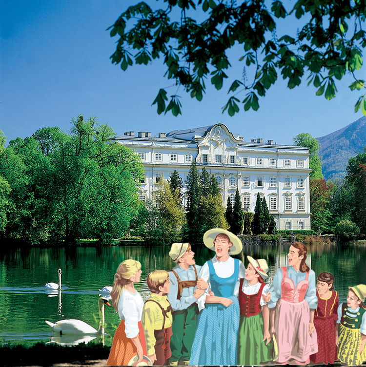 Sound of Music at Leopoldskron Palace © Salzburg Panorama Tours