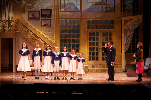 Scene in the Sound of Music Musical