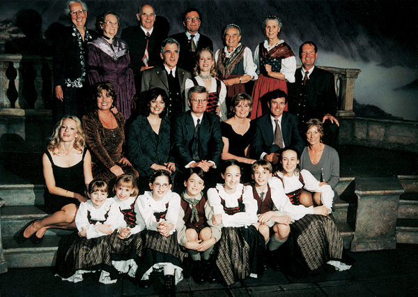 Picture from the Trapp family in 2000