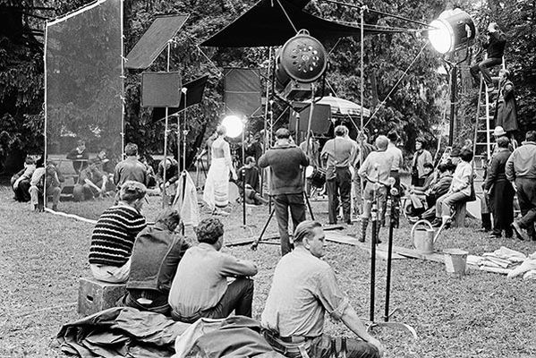 Shooting of Sound of Music © Erich Lessing und Leica Galerie Salzburg