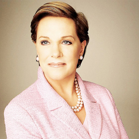 Julie Andrews played Maria